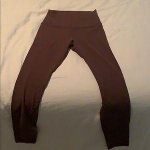 Purple align pants size 4